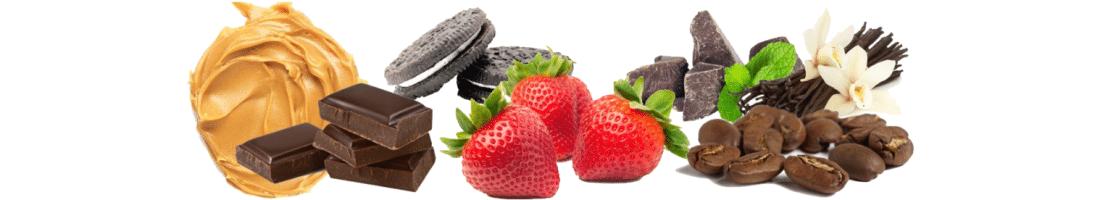 נוזל מילוי לסיגריה אלקטרונית - flavors