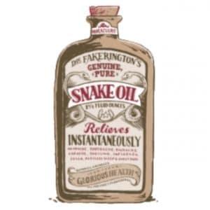 נוזל לסיגריה אלקטרונית - snakeoil