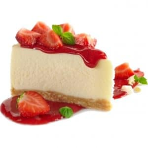 נוזל לסיגריה אלקטרונית - Strawberry Cheesecake
